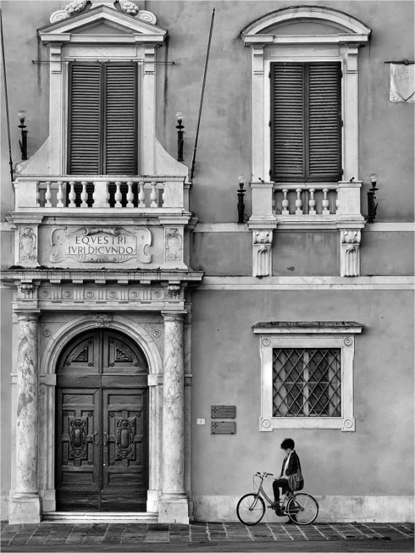 """""""Piazza dei Cavalieri"""" Gérald Olivier / Sté Havraise de Photographie 2e 50pts"""