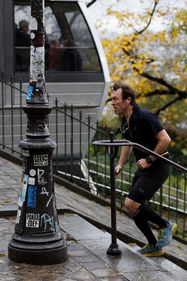 """""""Je suis plus rapide que le funiculaire"""" Stéphane Avenel (Jarodenzo) / Photo Club Rouennais 10e 46pts"""