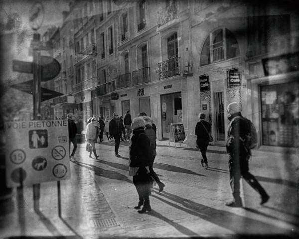 """""""Voie piétonne"""" Dominique Flambard / Photo Club Rouennais 10e 46pts"""