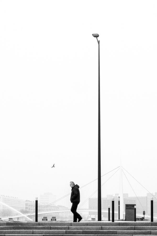 """""""Le passager de la brume"""" Roland Vachon / Sté Havraise de Photographie 15e 45pts"""