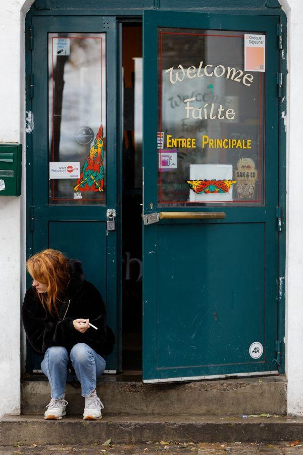 """Je clope dehors toute seule"" Stéphane Avenel (Jarodenzo) / Photo Club Rouennais 19e 44pts"